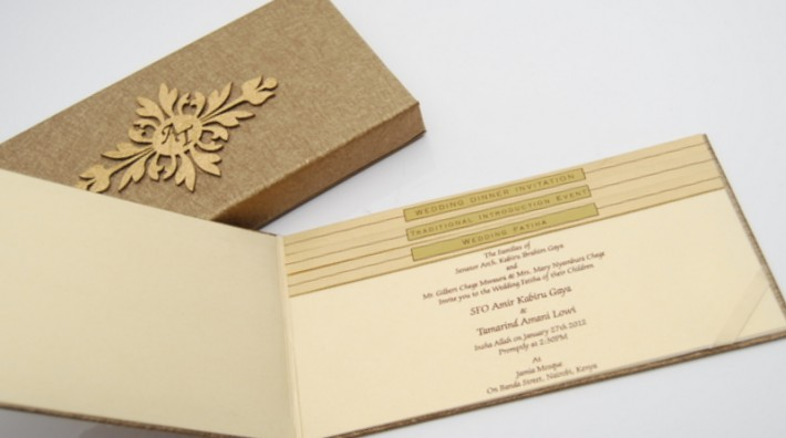 Indian Wedding Invitation Cards Without Religious Symbols