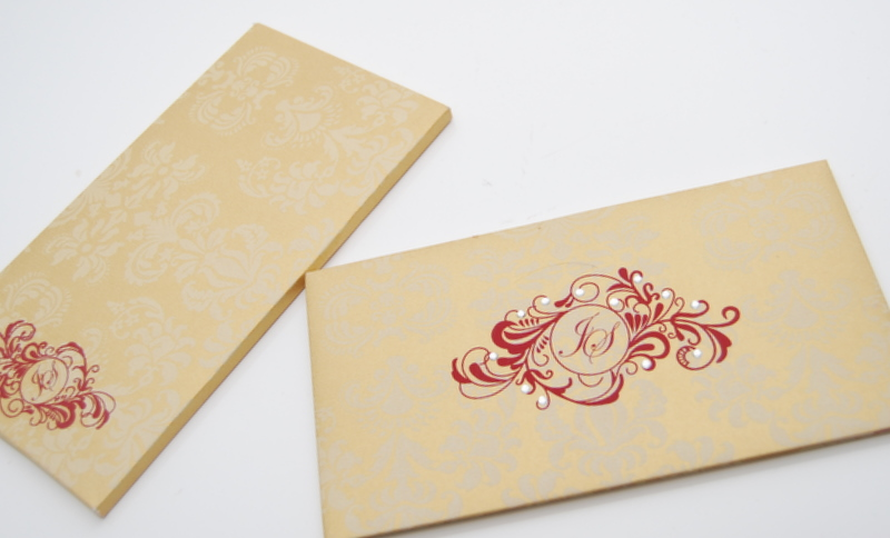 Pocketfold Wedding Invitations as luxury invitation example