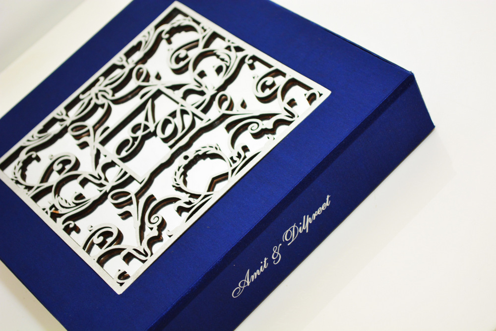 Luxury wedding cards for indian asian weddings in london uk for Chawla wedding cards boxes ludhiana punjab